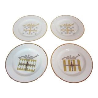 1990's Vintage Gala Dessert Plates- Set of 4 For Sale