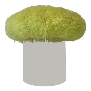 Lucite Vanity Poof Used on the Phil Donahue Show