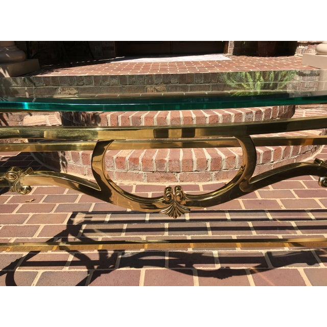 LaBarge Sofa Table For Sale - Image 5 of 10
