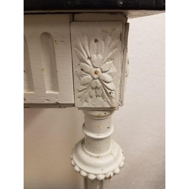 19th Century 19th Century Country Decoupaged Sheet Music Plant Stand For Sale - Image 5 of 8