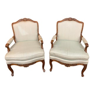 1920s Bernhardt Country French Chairs - a Pair For Sale