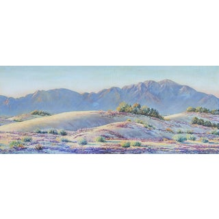 California Mountains & Desert Landscape Painting
