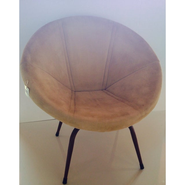 Danish Modern Saucer Chair - Image 2 of 5