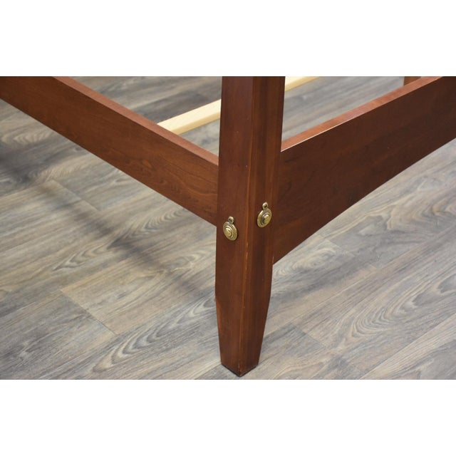 Ethan Allen American Impressions Solid Cherry King Bed For Sale In Boston - Image 6 of 10