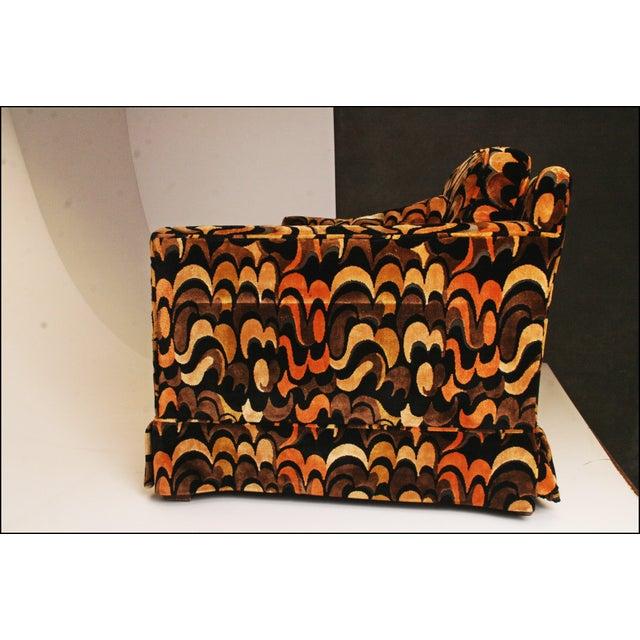 Mid-Centuryack Lenor Larsen Upholstered Loveseat - Image 4 of 11