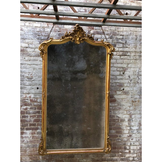 French 19th Century Mirror For Sale - Image 3 of 4