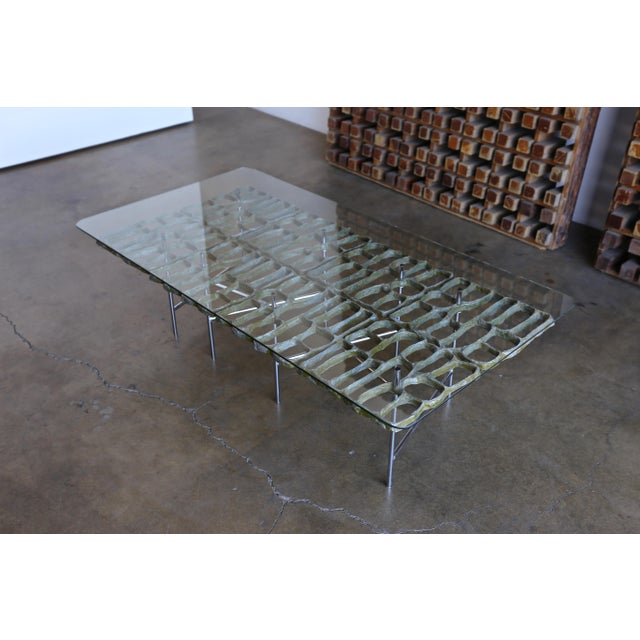 Mid Century Sculptural Coffee Table by Donald Drumm For Sale - Image 12 of 12