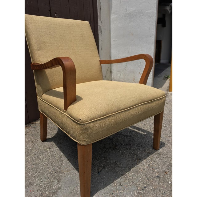 Art Deco Club Chairs - Pair - Image 6 of 10