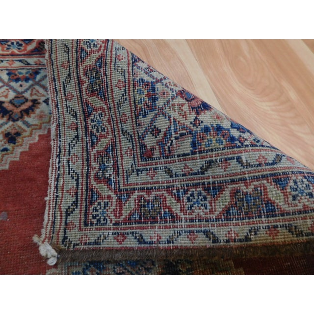 Antique Persian Tabriz Rug - 1′8″ × 2′8″ For Sale - Image 5 of 5