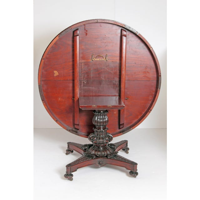 Anglo-Indian Tilt-Top / Centre Table of Mahogany For Sale - Image 10 of 13