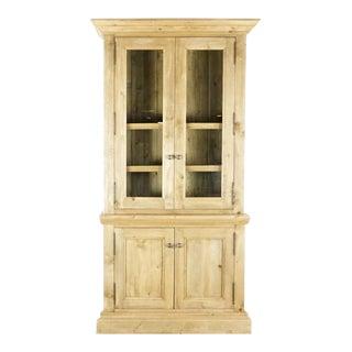Rustic Restoration Hardware Wooden Hutch For Sale