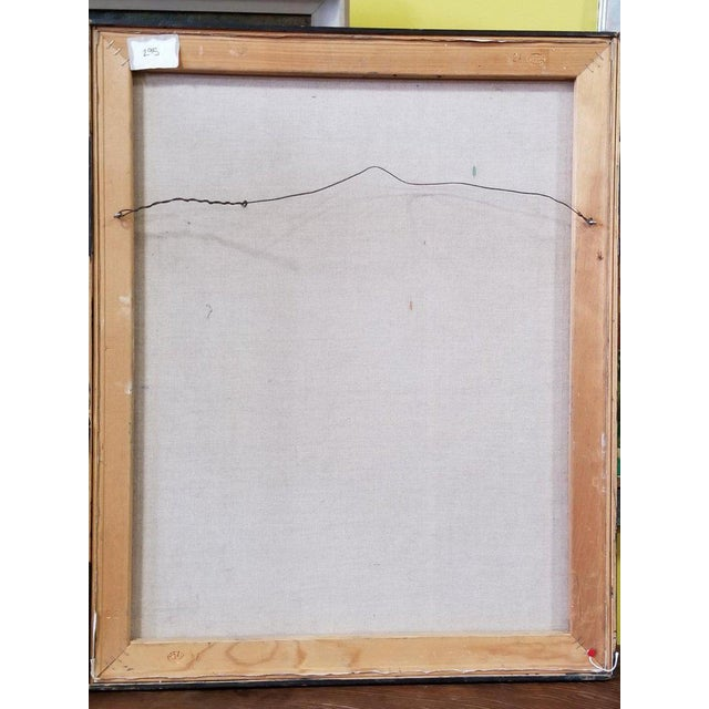 1990s Lois Foley Abstract Painting For Sale - Image 5 of 6