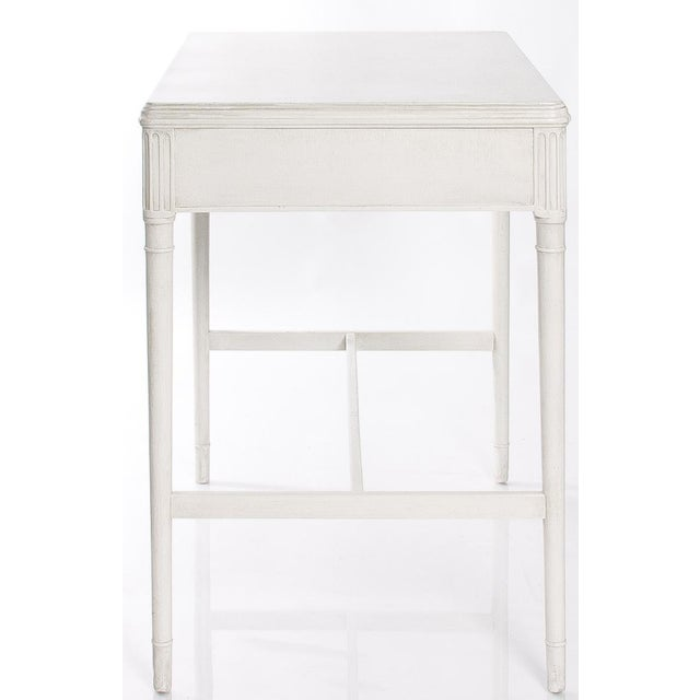 1930s 1930s White Painted Writing Desk/ Vanity by Widdicomb For Sale - Image 5 of 7