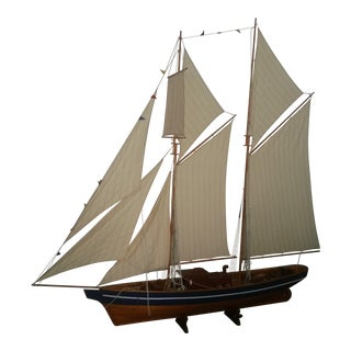 Six Foot Model Sailboat For Sale