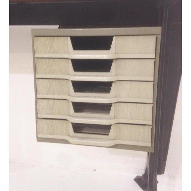 Black Desk by Studio Bbpr for Olivetti For Sale - Image 8 of 9