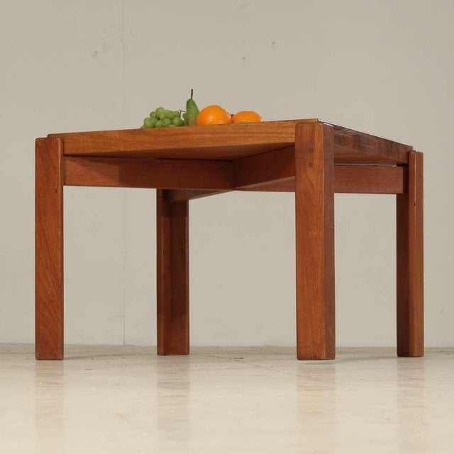 Jens Harald Quistgaard Jens Quistgaard Teak Tray Table with Concave Top, Denmark, 1960s For Sale - Image 4 of 7