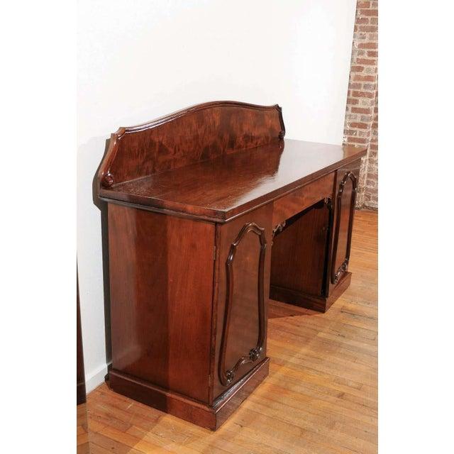 Brown William IV Mahogany Pedestal Sideboard For Sale - Image 8 of 11