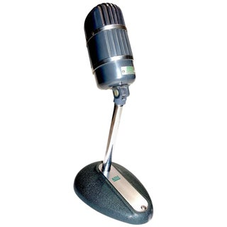 Altec Model 670-B Ribbon Studio Microphone with Rare Stand Circa 1950s For Sale
