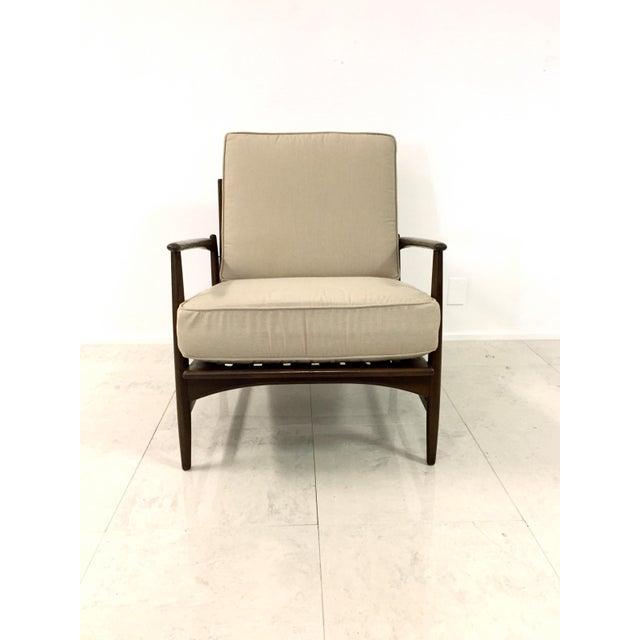 Kofod Larsen for Selig Vintage Danish Lounge Chair - Image 8 of 10