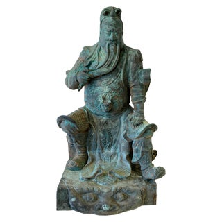 Bronze Guan Yu For Sale