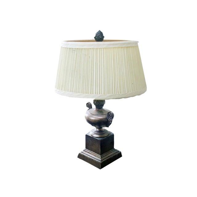 Vintage Petit Decorative Trophy Cup Table Lamp For Sale