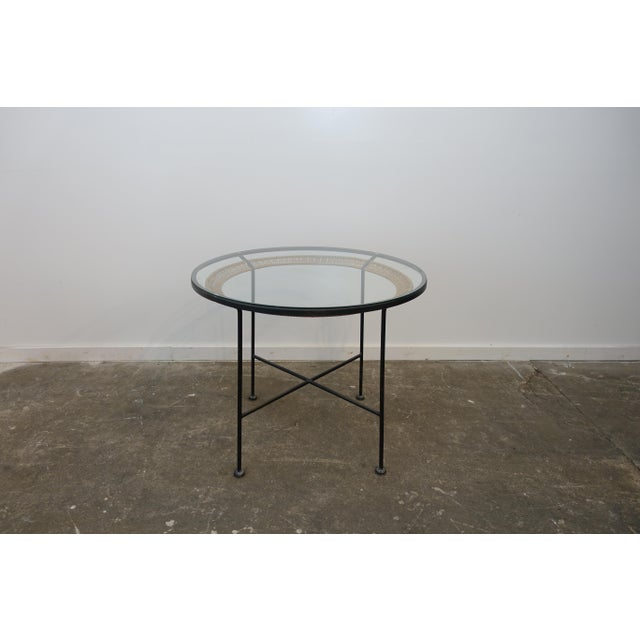 Metal Mid-Century Modern Dining Table by Arthur Umanoff For Sale - Image 7 of 7