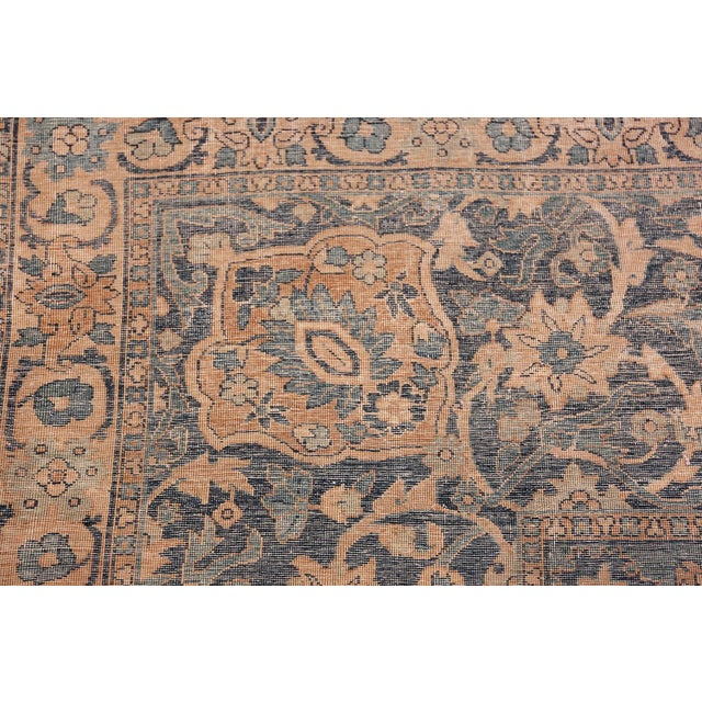 1900 - 1909 Antique Persian Kerman Oversized Vase Design Carpet - 13′6″ × 25′5″ For Sale - Image 5 of 13