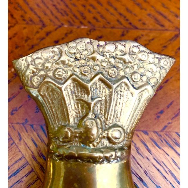 Vintage Brass Hand Paper Clip For Sale In Nashville - Image 6 of 8