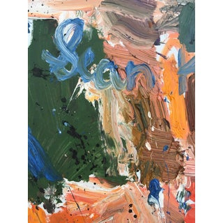 Abstract Oil Painting by Sean Kratzert, 'Farm House' Preview