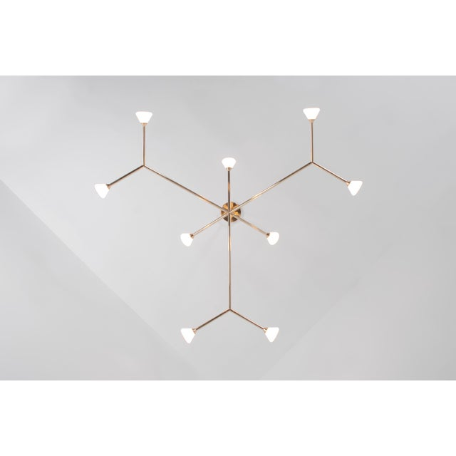 Super Nova Chandelier by McKenzie & Keim For Sale - Image 10 of 13