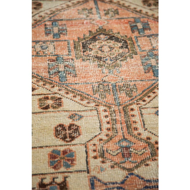 """Blue Vintage Distressed Malayer Rug - 4'4"""" X 6'3"""" For Sale - Image 8 of 12"""
