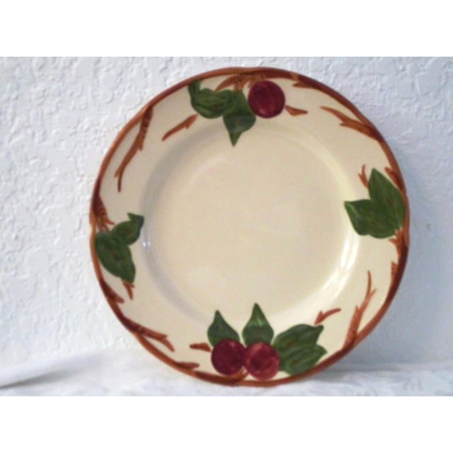 Franciscan China Franciscan Apple Dinner Plates & Coupe Bowls - Set of 12 For Sale - Image 4 of 9