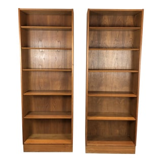 Poul Hundevad Danish Teak Bookcases - a Pair For Sale