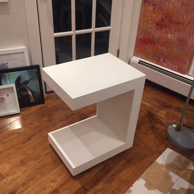 Bungalow 5 Linen Side Tables- a Pair For Sale In Boston - Image 6 of 12