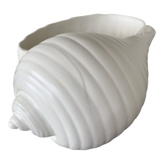 Antique White Wedgwood Shell For Sale