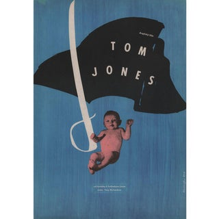 Tom Jones 1964 Czech A3 Film Poster For Sale