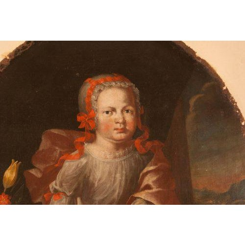 Memorial Portrait of an Child For Sale - Image 4 of 6