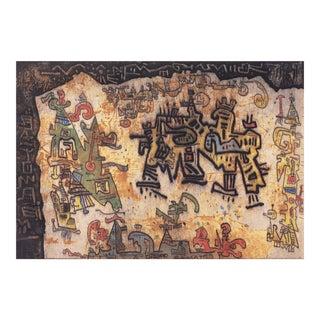 'Tribal Coast' by Ynez Johnston, 1964; New York, Museum of Modern Art, Guggenheim, Woman Artist, For Sale