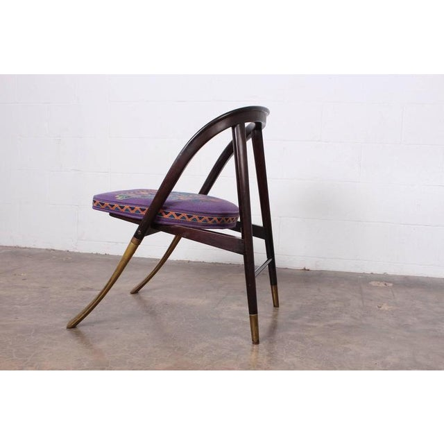 "Dunbar Furniture Edward Wormley ""a Chair"" for Dunbar For Sale - Image 4 of 10"