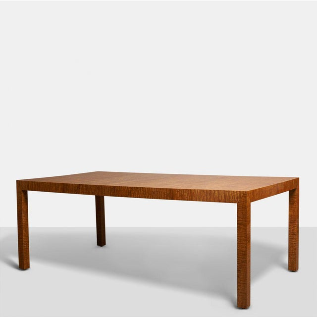 The Pace Collection, Dining Table with Two Leaves, presumably designed by Milo Baughman, but the table is unmarked. Very...