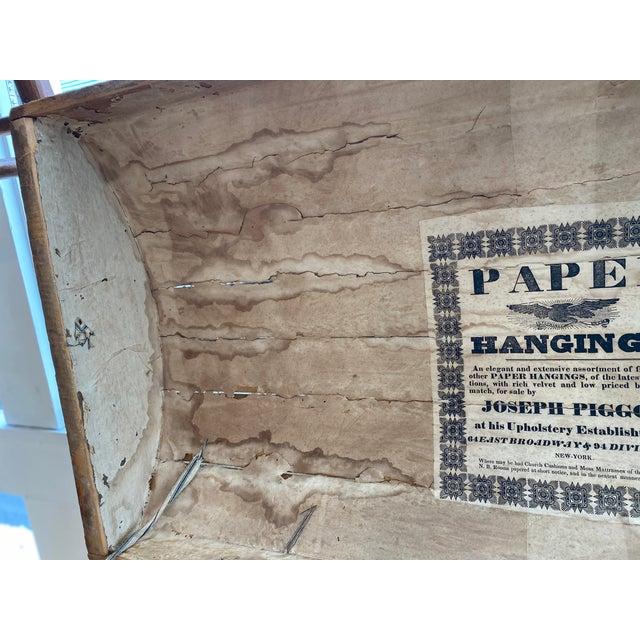 Antique Wallpaper Vendor Trunk For Sale In Portland, ME - Image 6 of 13