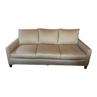 Lee Industries / George Smith Fabric New Sofa For Sale