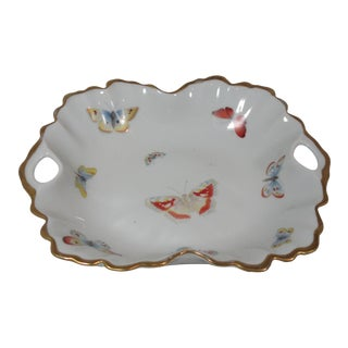 French Limoges Butterfly Candy Dish For Sale