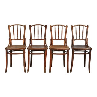 Thonet Bentwood A9800 Dining Chairs - Set of 4