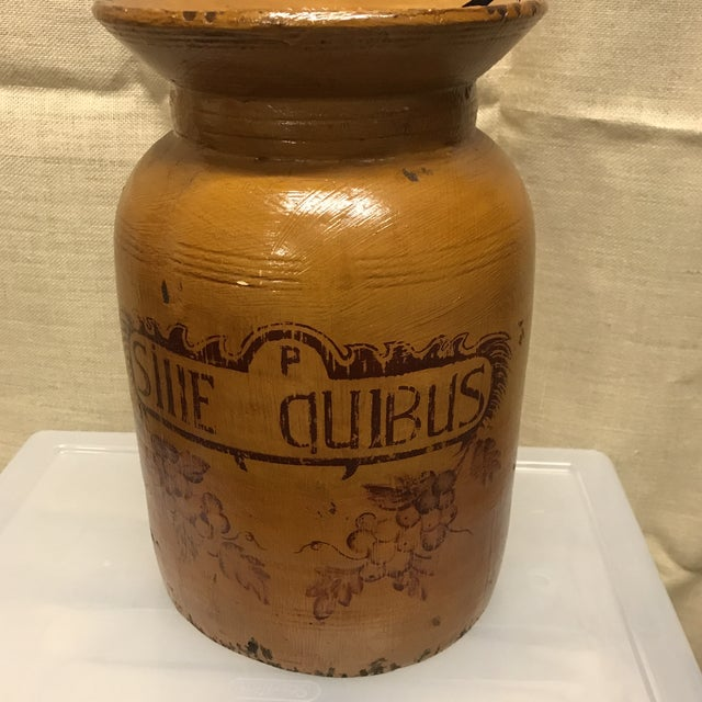 Wooden Apothecary Jar - Image 3 of 4