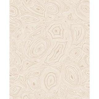 Cole & Son Malachite Wallpaper Roll - Parchment & Gold For Sale
