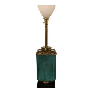 Edwin Cole Stiffel Mid-Century Modern Lamp For Sale