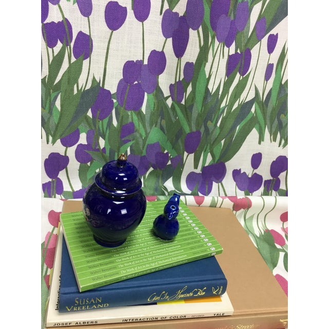 In Bloom Fabric in Thistle Purple, 5 Yards For Sale - Image 4 of 7