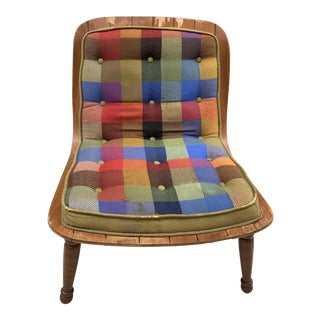 Mid Century Carter Brothers 200 Scoop Chair For Sale