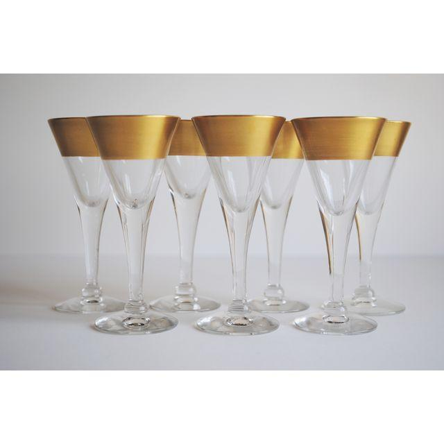 Dorothy Thorpe Cordial Glasses - Set of 7 - Image 2 of 4
